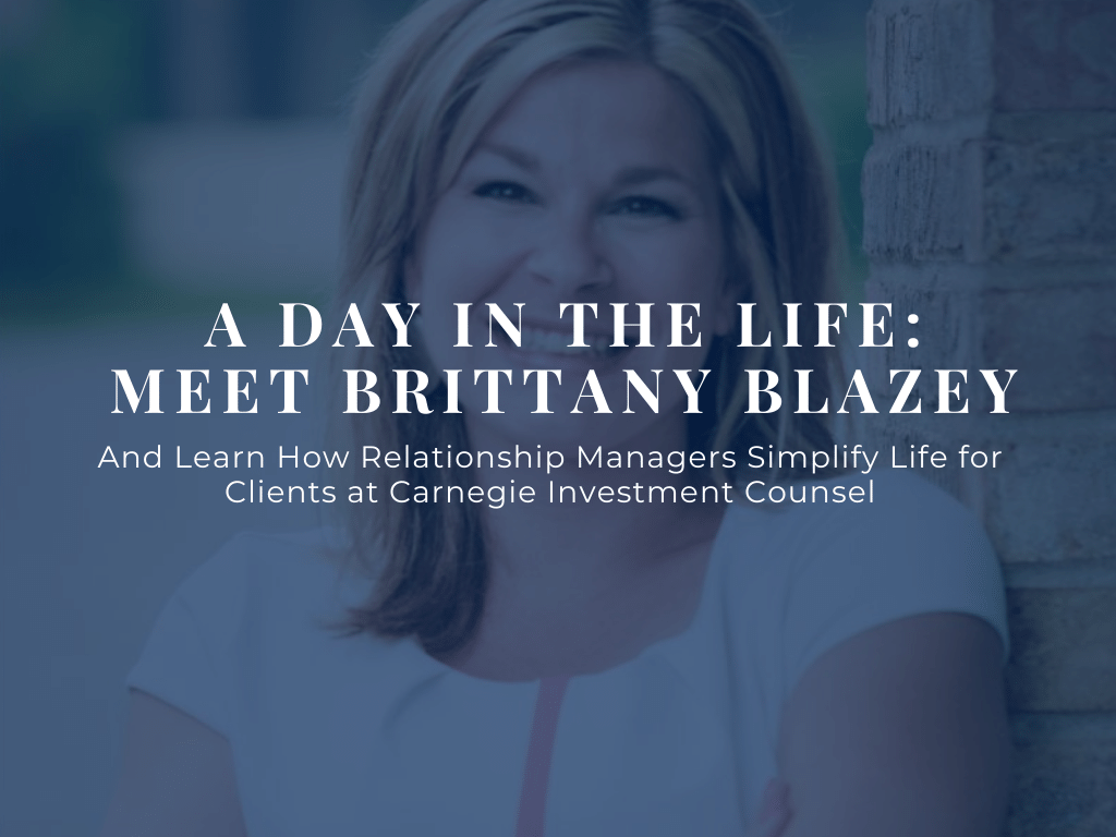 Meet Brittany Blazey Blog Header