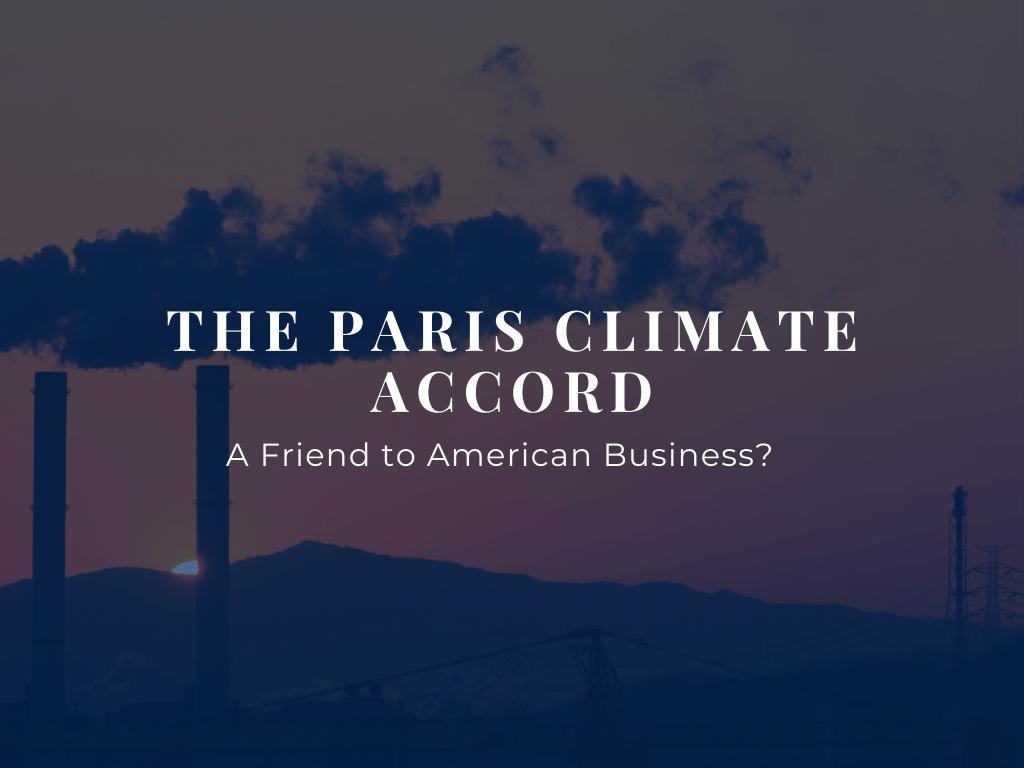 Paris Climate Accord Blog Header