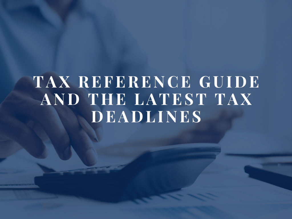 Tax Reference Guide Blog Header