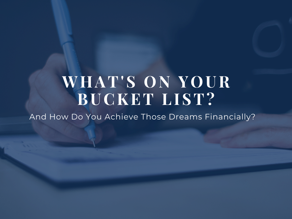 Whats On Your Bucket List Blog Header
