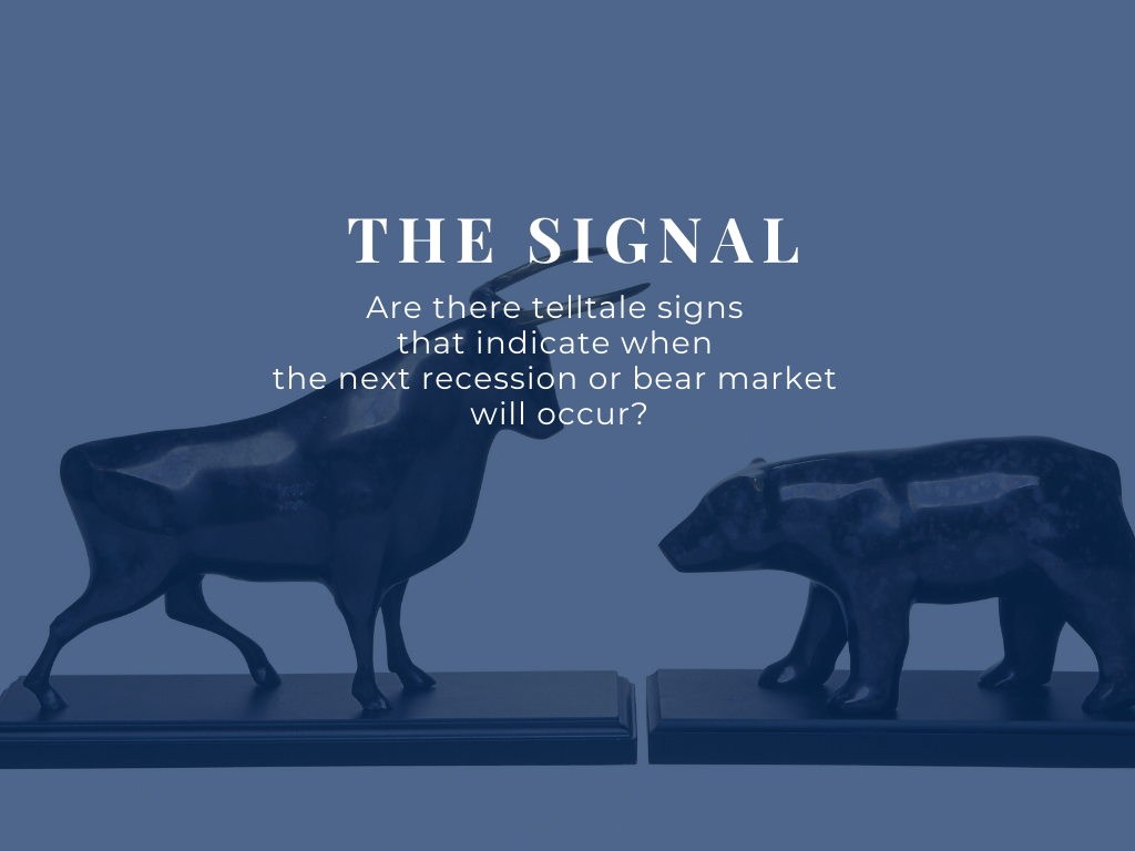 Are there telltale signs that indicate a bear market or a bull market?