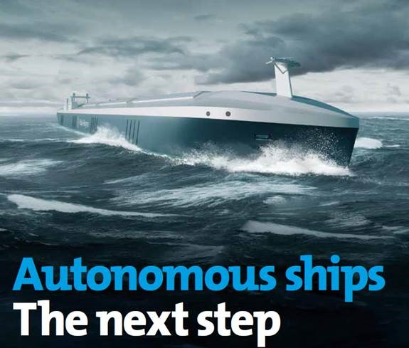 Autonmous ships: The next step